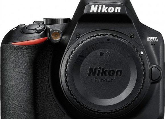 Nikon D3500 גוף בלבד DSLR מצלמת ניקון - יבואן רשמי