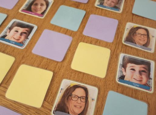 משחק זיכרון אישי