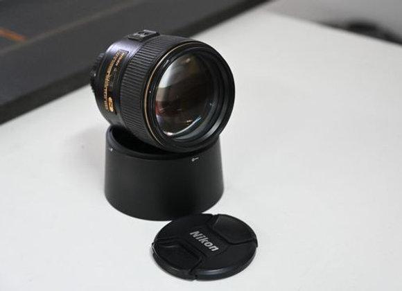עדשה nikon af-s nikkor 105mm f/1.4e ed לא במלאי