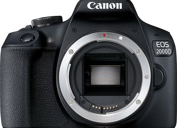 מצלמה DSLR קנון CANON EOS 2000D BODY
