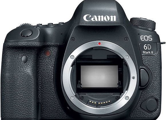מצלמה DSLR קנון Canon EOS 6D Mark II Body קרט יבואן רשמי