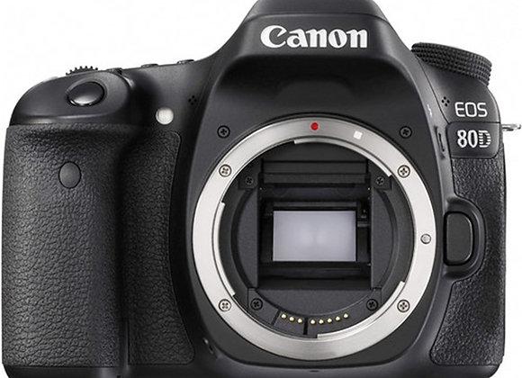 מצלמה DSLR קנון CANON EOS 80D