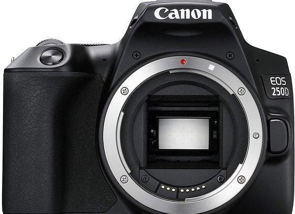 מצלמה DSLR קנון CANON 250D BODY - קרט יבואן רשמי