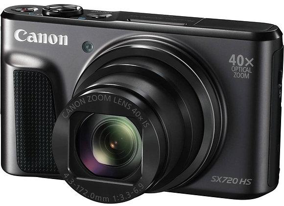 מצלמה קומפקטית קנון Canon PowerShot SX720 HS קרט יבואן רשמי
