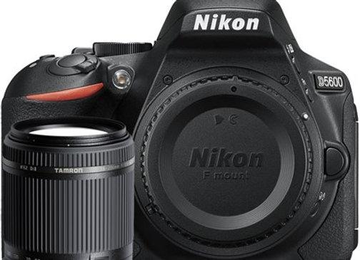 Nikon D5600 + TAMRON 18-200 VC - קיט DSLR מצלמת ניקון