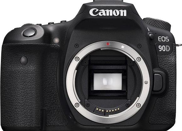 מצלמה DSLR קנון CANON EOS 90D BODY קרט יבואן רשמי