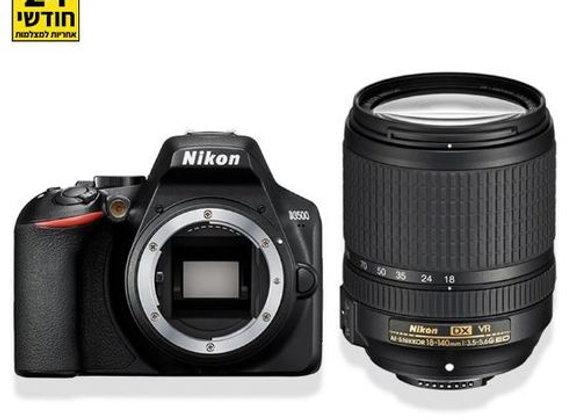 Nikon D3500 + 18-140 AFS VR - קיט DSLR מצלמת ניקון - יבואן רשמי