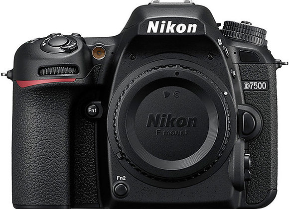 Nikon D7500 גוף בלבד DSLR מצלמת ניקון
