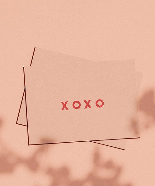 XOXO ~ Gift Card