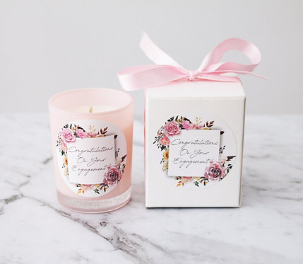 Boxed Pink Votive Candles