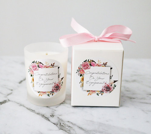 Boxed Frosted Votive Candles