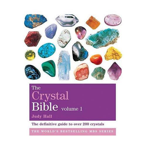 The Crystal Bible Vol 1   Judy Hall