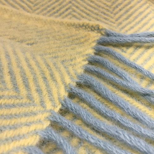 Tweedmill | Wool Herringbone Blanket