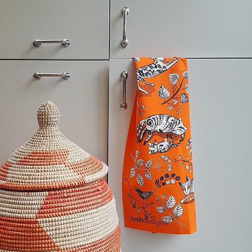Lush Design Tea Towel | Kitty