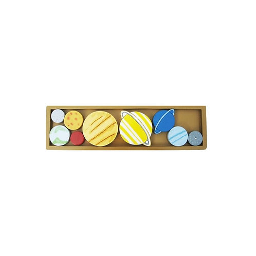 Wooden Planet Tray