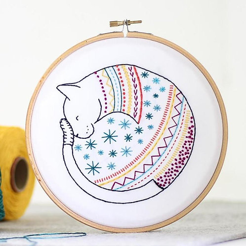 Embroidery Kit | Cat