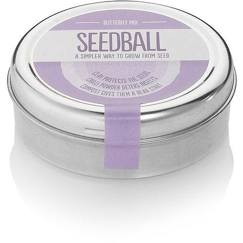 Seedball Tin | Butterfly Mix