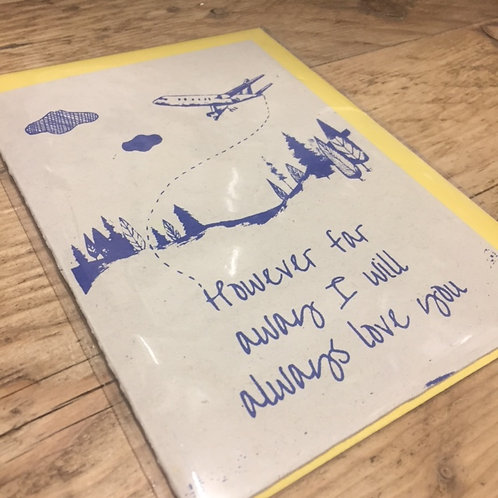 However Far Card | Julia Ogden