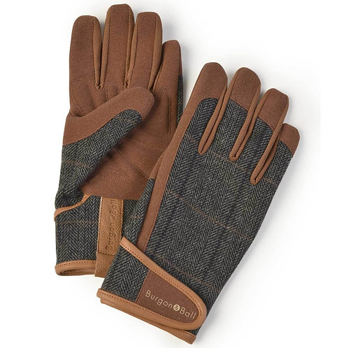 B&B Men's Gardening Gloves | Tweed