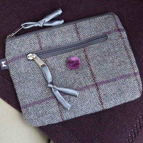 Earth Squared Tweed Emily Purse