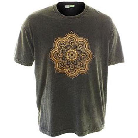 Mandala T-Shirt Dark Green