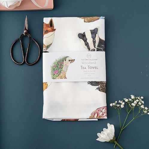 DM Collection | Woodland Tea Towel