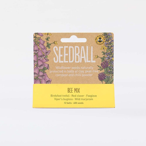 Seedball Tube | Bee Mix