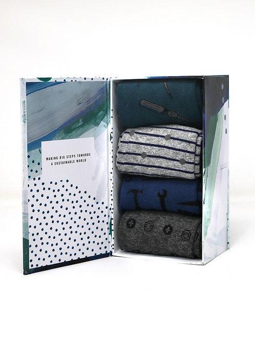 Thought Juan Toolkit Socks Gift Box