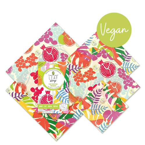 BeeBee Beeswax Food Wrap Family Pack | Tropical