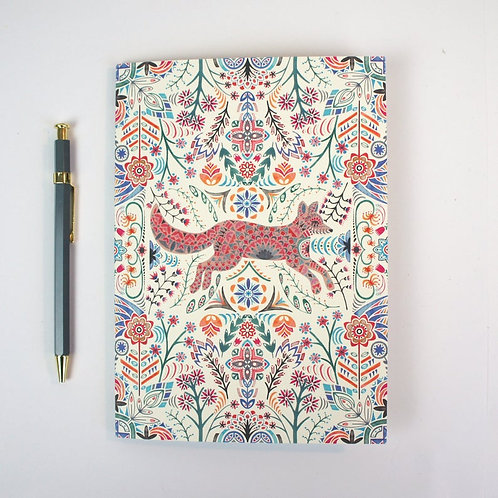 Prism of Starlings | A5 Plain Lined Notebook