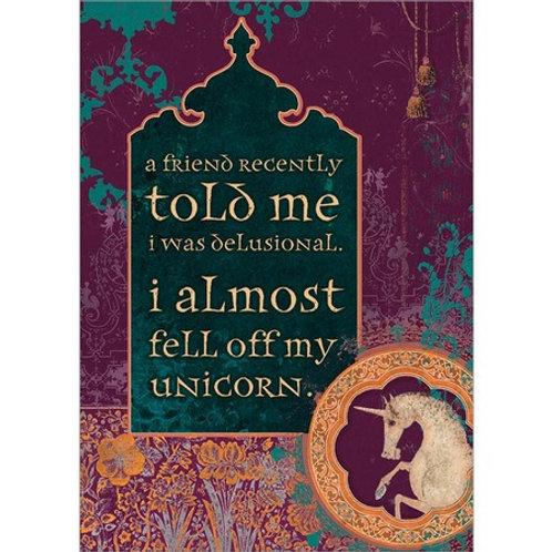 Amber Lotus Message Greeting Cards