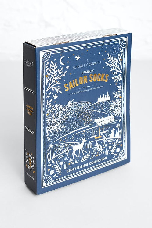 Seasalt Snowy Scene socks box of 3 | Treasure Cave Mix