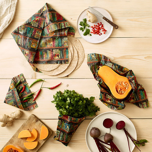 Beeswax Food Wrap | Two Combo
