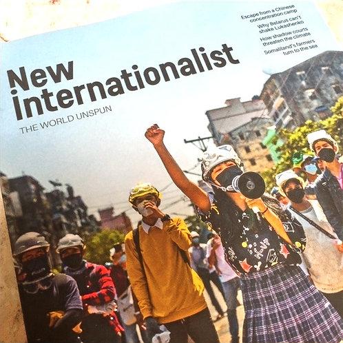 New Internationlist Magazine   July-August 2021
