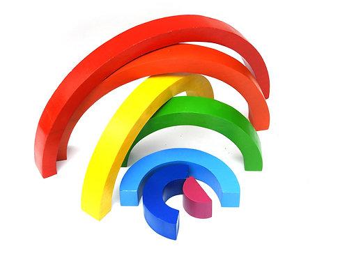 Fair Trade Wooden Rainbow Puzzle