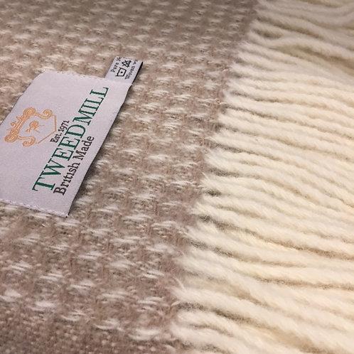 Tweedmill | Wool Waffle Blanket
