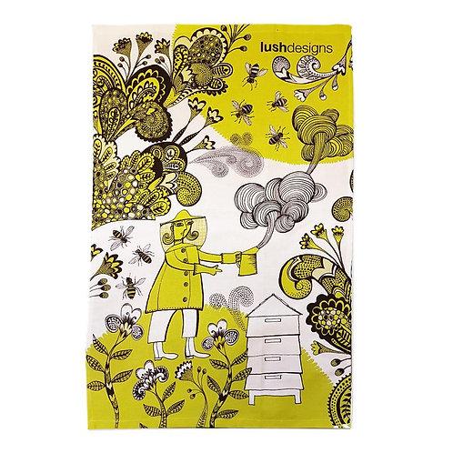 Lush Design Tea Towel | Bee Garden