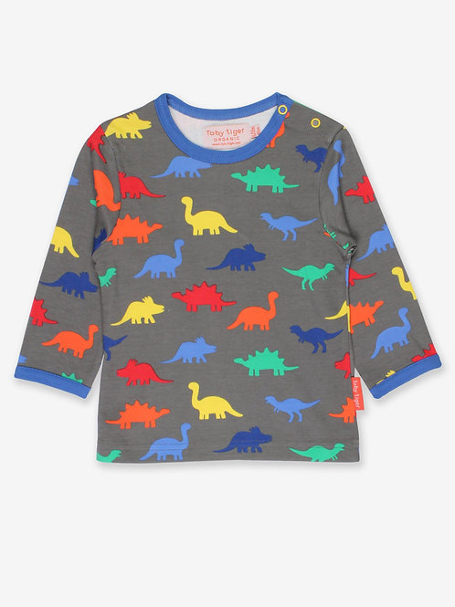Toby Tiger Dinosaur Top