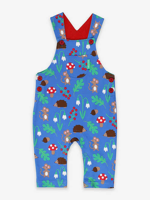 Toby Tiger Woodland Dungarees