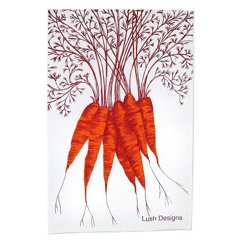 Lush Design Tea Towel   Carrots
