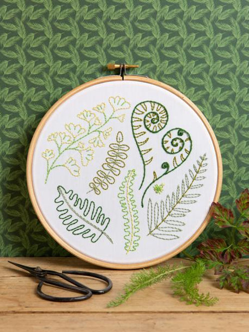 Embroidery Kit | Forest Ferns