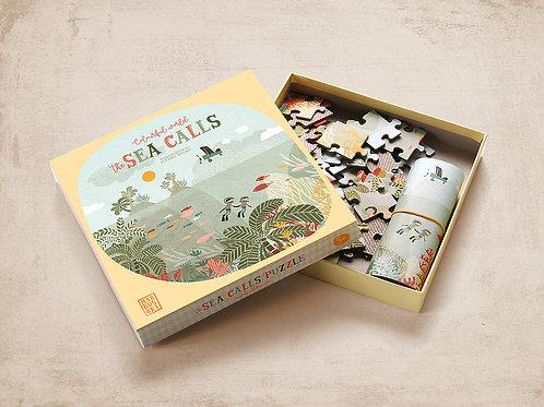 Marbushka The Sea Calls Jigsaw Puzzle