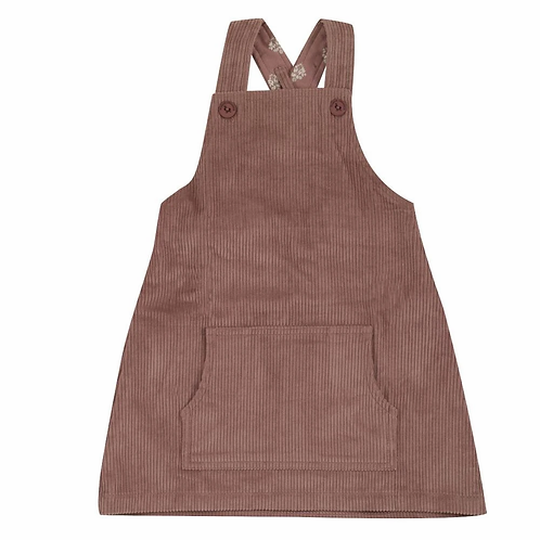 Pigeon Organics Apron Dress | Rose