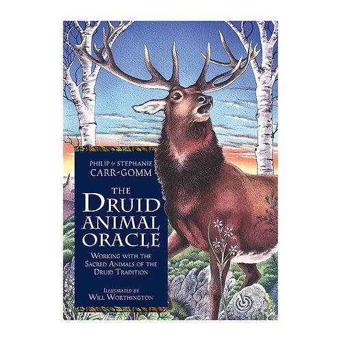 Druid Animal Oracle Card, Cloth & Book Set
