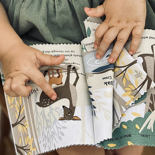 Threadbear Woodland Hush Cloth Book