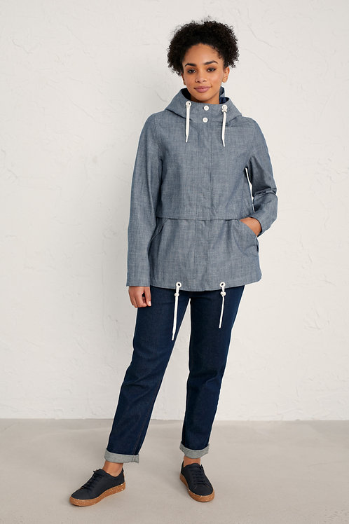 Seasalt Blue Depth Jacket | Trenninow Chambray