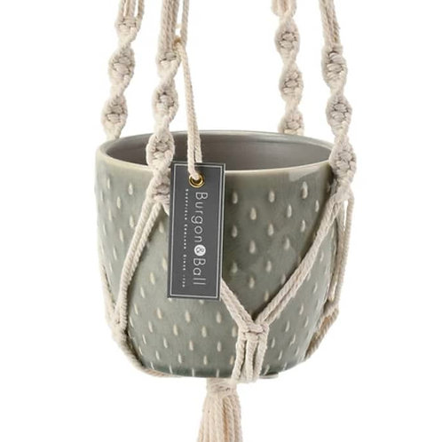 B&B Macrame Pot