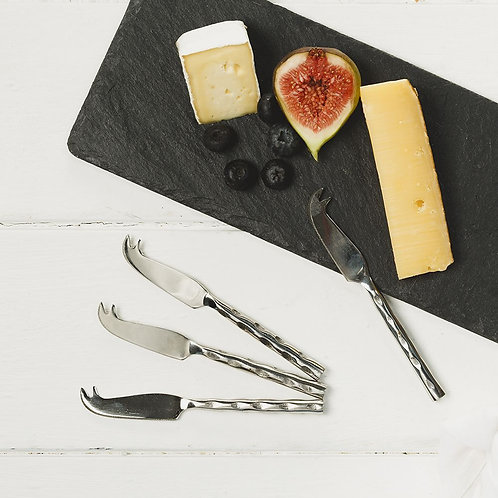 Just Slate | Four Mini Cheese Knives