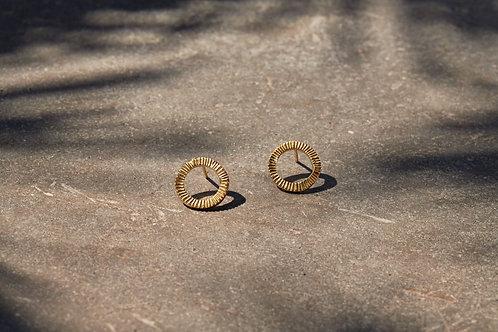 Nkuku Lalia Etched Earrings