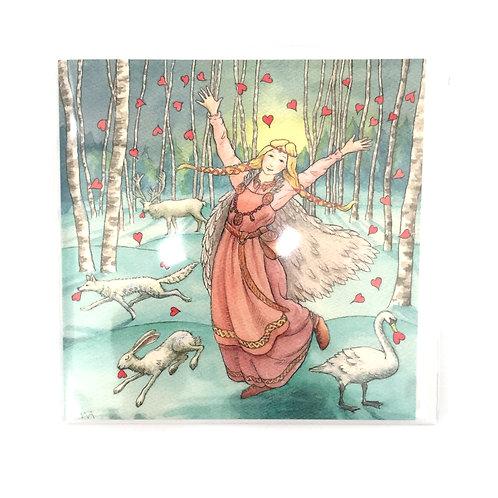 Painting Dreams Goddess Greeting Cards